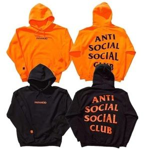 886c16fa9686 Anti Social Social Club Sweaters - Anti Social Social Club X Undefeated  Black Hoodie